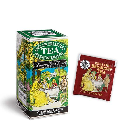 Tè The English Breakfast Premium Ceylon Tea Mlesna Confezione 30 Filtri