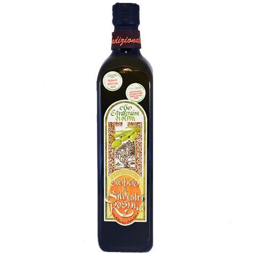 Olio Extra Vergine di Oliva Marasca Tradizionale (Gusto Delicato )Oleificio Silvestri Rosina 75 Cl
