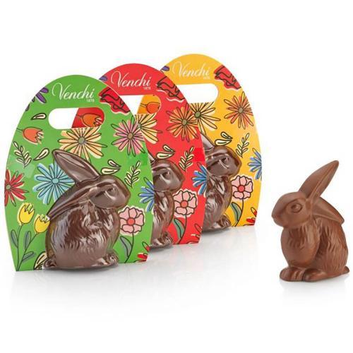 Coniglio di Cioccolato Al Latte Pasqua Venchi in Astuccio 100 gr.
