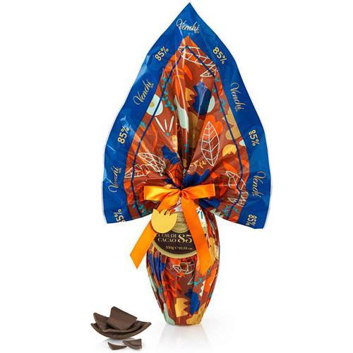 Uovo Cioccolato Extra Fondente 85 % Cuor di Cacao Venchi 350 Gr