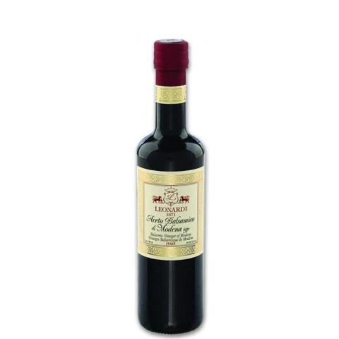 Aceto Balsamico di Modena IGP Capsula Bordeaux Acetaia Leonardi 500 Ml