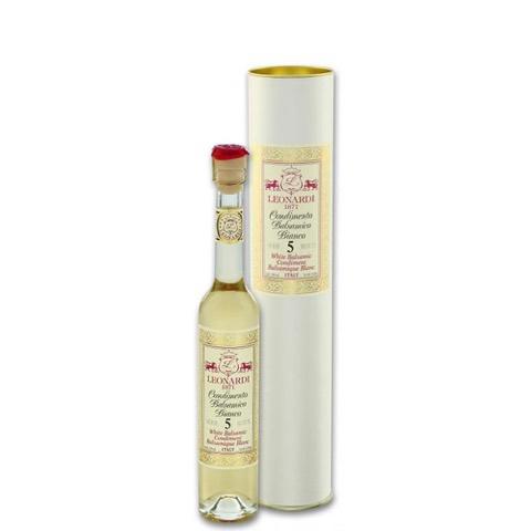 Condimento Balsamico Bianco Serie 5 Botti Acetaia Leonardi 100 Ml in Tubo