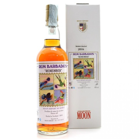 Rum Barbados Remember Collection Moon Import 70 Cl