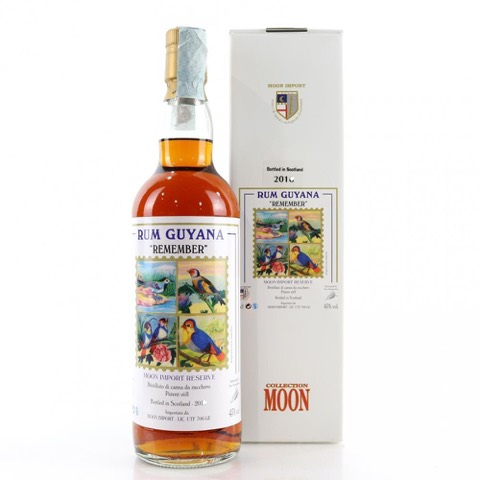 Rum Guyana Remember Collection Moon Import 70 Cl