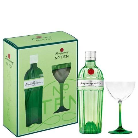 Gin Ten Tanqueray 70 Cl + Bicchiere in Confezione