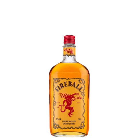 Liqueur Blended With Cinnamon & Whisky Fireball 50 Cl