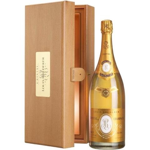 Champagne Cristal Louis Roederer 2007 Magnum 1,5 Lt in Cassa di Legno
