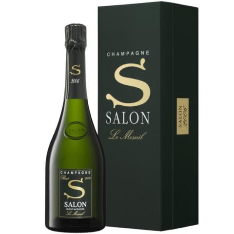 Champagne Brut Blanc de Blancs Le Mesnil Salon 2004 75 Cl in Astuccio