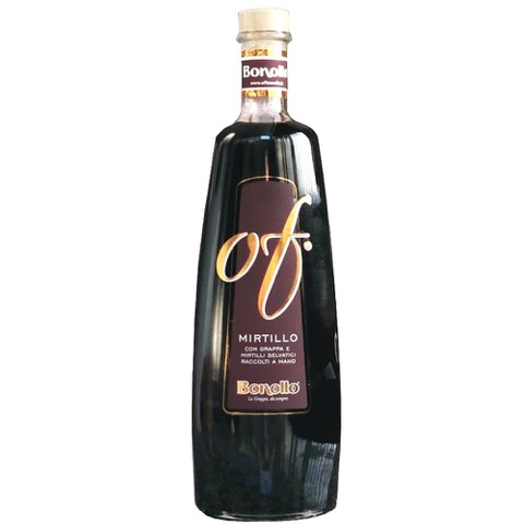 Liquore con Grappa of e Mirtilli Selvatici Of Bonollo 70 Cl