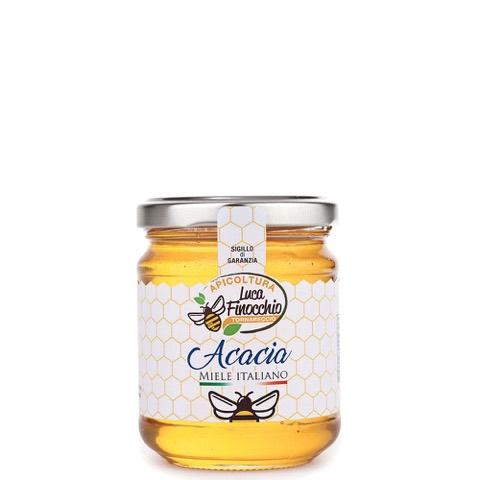 Miele di Acacia Apicoltura Luca Finocchio Vaso 500 Gr