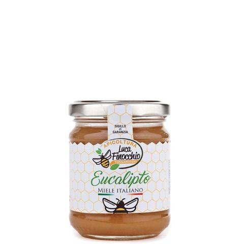 Miele di Eucalipto Apicoltura Luca Finocchio Vaso 500 Gr