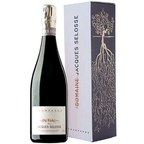 Champagne Grand Cru Blanc de Blancs Initial Jacques Selosse in Astuccio