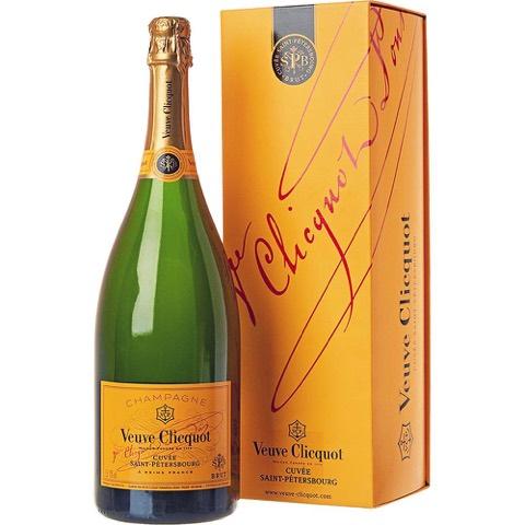 Champagne Brut Saint Petersbourg Veuve Clicquot Ponsardin Magnum 1,5 Lt in Astuccio