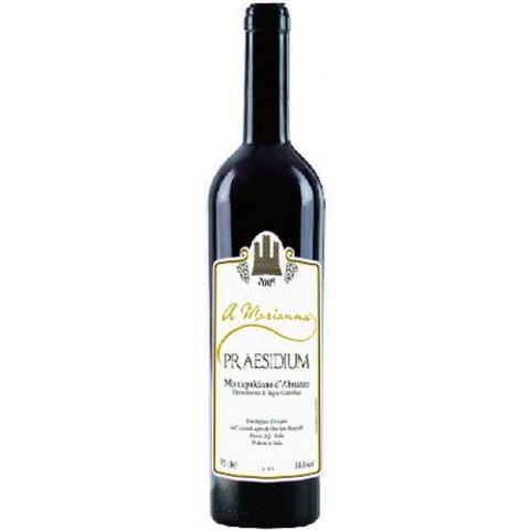 Montepulciano D'Abruzzo Riserva A Marianna Praesidium 2012