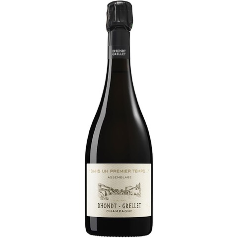 Champagne Extra Brut Dans Un Premier Temps Dhondt-Grellet 70 Cl