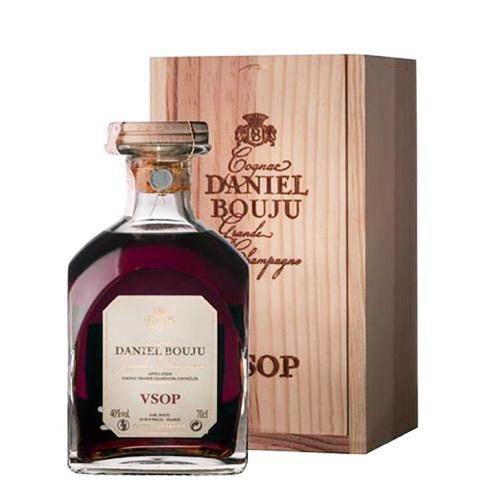 Cognac Grande Champagne VSOP Carafon Reserve Daniel Bouju 70 Cl in Cassetta Legno