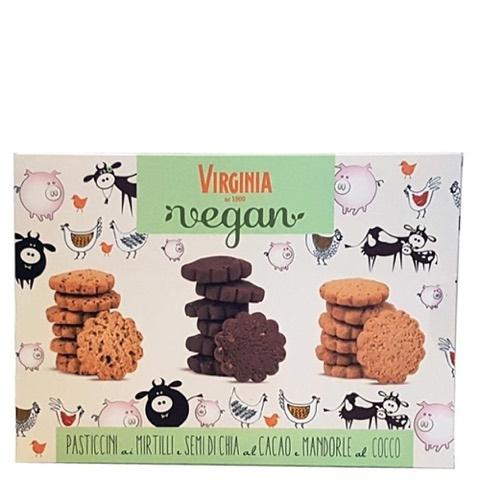 Pasticcini Assortiti Vegani Amaretti Virginia Scatola Gr 180
