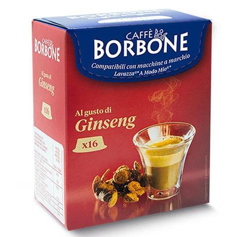 Capsule Don Carlo Caffè al Ginseng x Lavazza A Modo Mio Borbone Confezione 16 pz