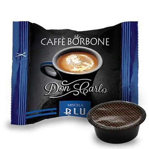Capsule Don Carlo Caffè Blu x Lavazza a Modo Mio Borbone confezione 50 Pz