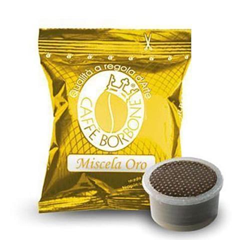 Capsule Fap Caffè  Oro x Lavazza Espresso Point Borbone Confezione 50 Pz
