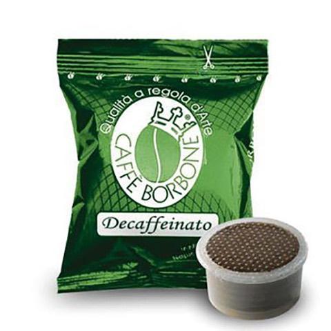 Capsule Fap Caffè  Verde Dek x Lavazza Espresso Point Borbone Confezione 50 Pz