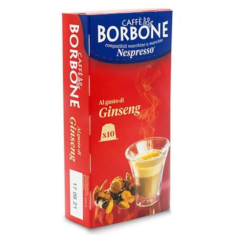 Capsule Respresso Caffè al Ginseng x Nespresso Borbone Confezione 10 pz