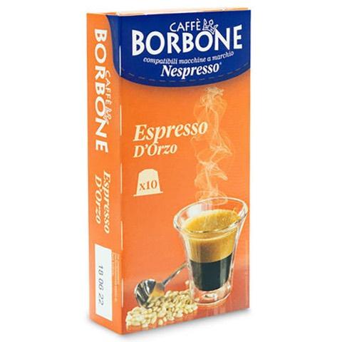 Capsule Respresso Caffè Orzo x Nespresso Borbone Confezione 10 pz