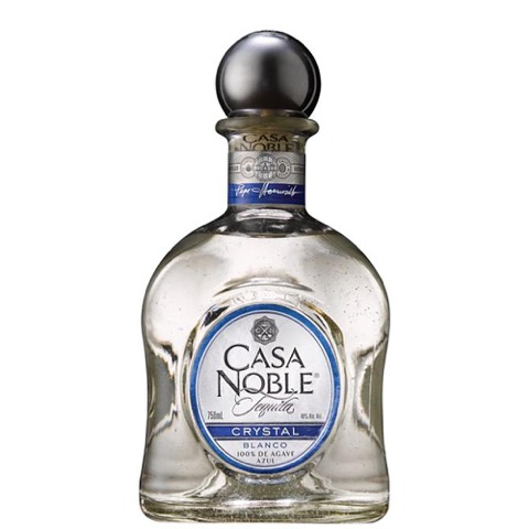 Tequila Blanco Crystal Casa Noble