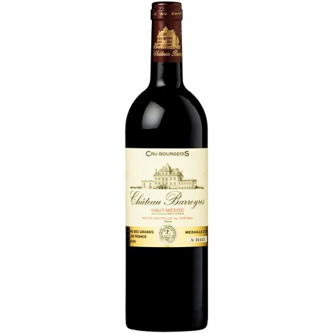 Cru Bourgeois Haut Medoc Chateau Barreyres 2011