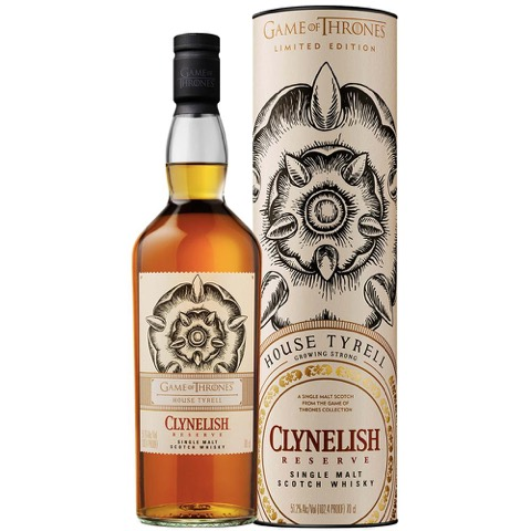 Whisky Scotch Reserve House Tyrell Game of Thrones Clynelish 70 Cl in Tubo