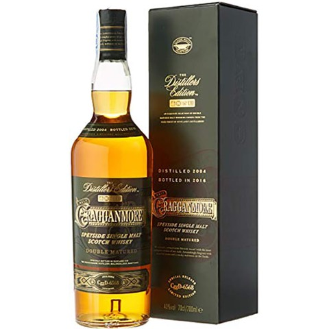 Whisky Single Malt Scotch Speyside 13 Years Old The Distiller Edition 2018 Cragganmore 70 Cl