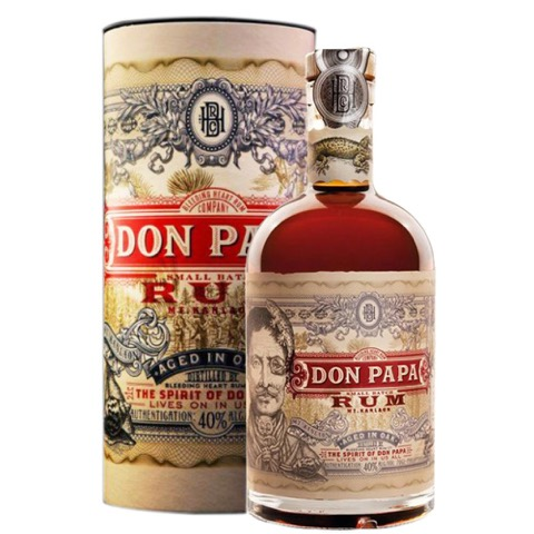 Rum Don Papa 7 Years Old 70 cl in Astuccio