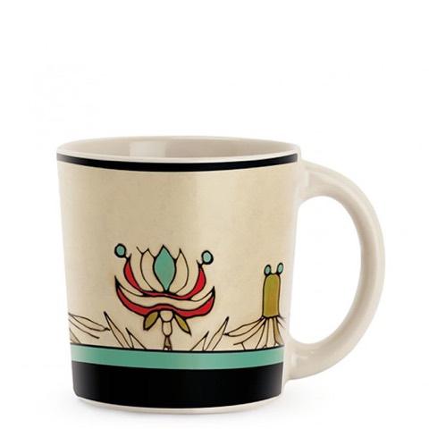 Mug Mediterraneo Fascia Turchese in Stoneware Egan