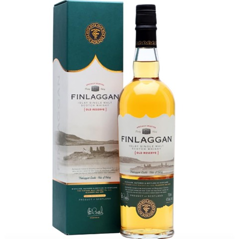 Whisky Scotch Islay Single Malt Old Reserve Finlaggan 70 Cl