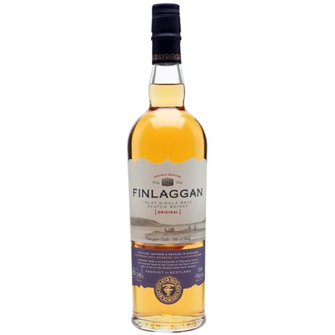 Whisky Scotch Islay Single Malt Original Peaty Finlaggan 70 Cl