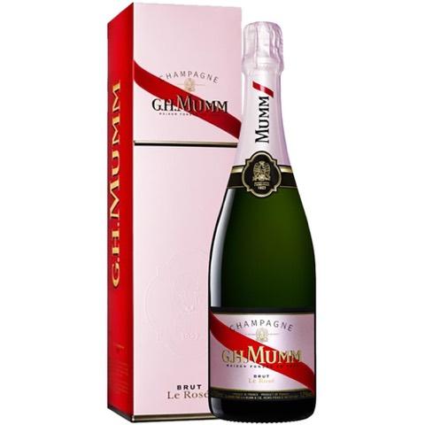 Champagne Brut Rosè G.H. Mumm in Astuccio