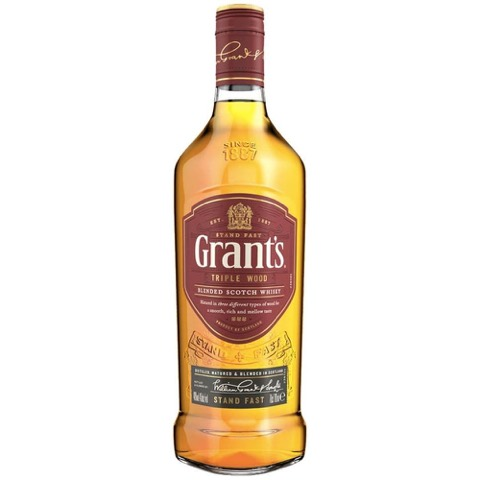Whisky Scotch Blended triple Wood Grant's 70 Cl