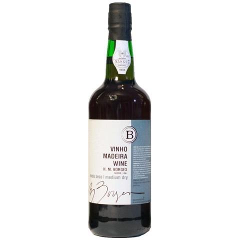 Madeira medium Dry H.M. Borges