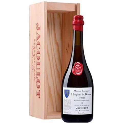 Marc de Bourgogne Hospice de Beaune 2001 Jacoulot 70 Cl in Cassetta Legno