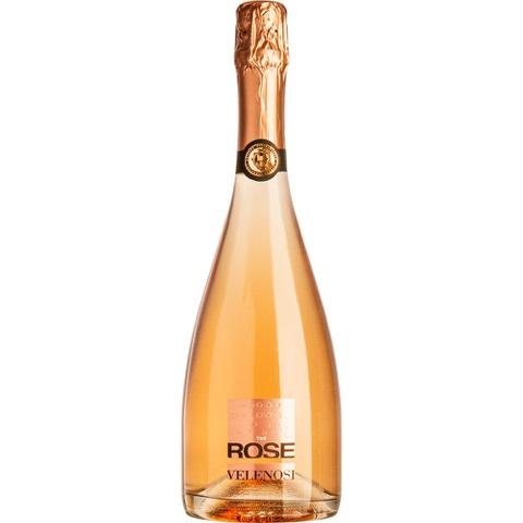 The Rose Spumante Rosè Metodo Classico Velenosi