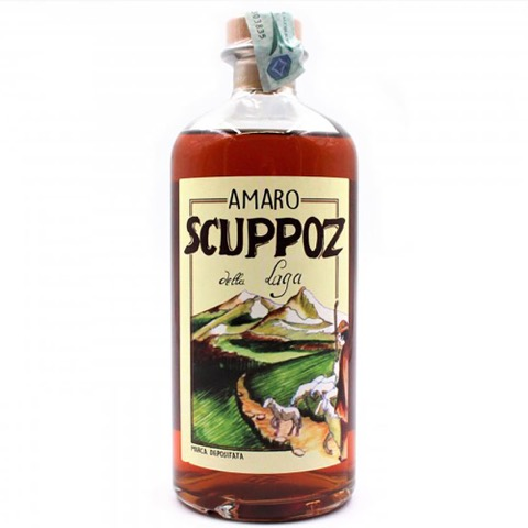 Amaro della Laga Scuppoz 70 Cl