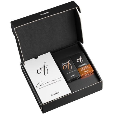 Cofanetto Experience Of Primo Sogno Of Amaro 70 Cl + Taste Of Grappa Amarone Barrique 5 Cl + Taste Of Dorange 5 Cl Bonollo