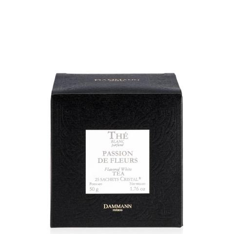 Tè Bianco Aromatizzato Passion De Fleurs Dammann Freres Confezione 25 Sacchetti