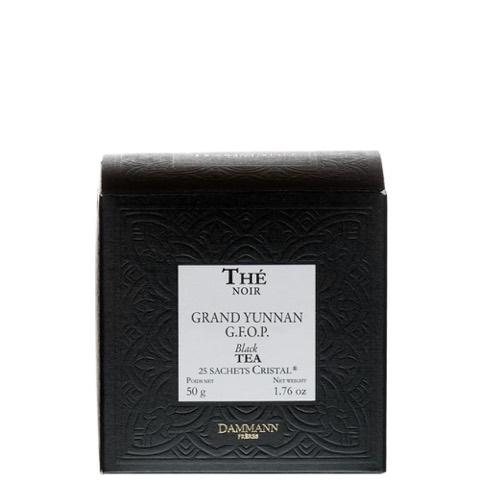 Tè Nero Grand Yunnan G.F.O.P. Dammann Freres Confezione 25 Sacchetti