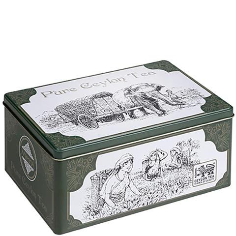 Latta per Regalo Ceylon Tea Mlesna Verde Vuota