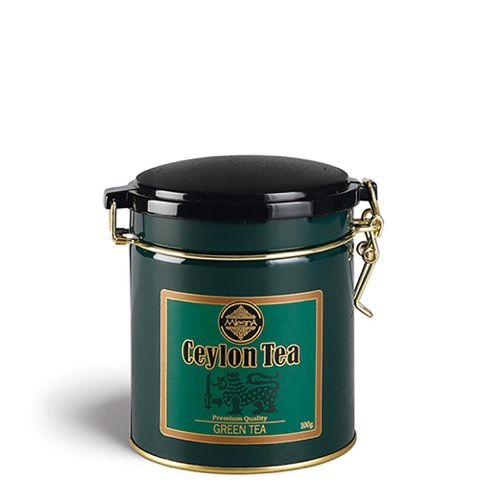 Tè The Green Premium Ceylon Tea Mlesna in Foglia Latta 100 Gr.