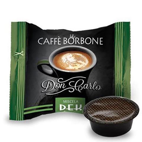 Capsule Don Carlo Caffè Verde Dek x Lavazza a Modo Mio Borbone confezione 50 Pz