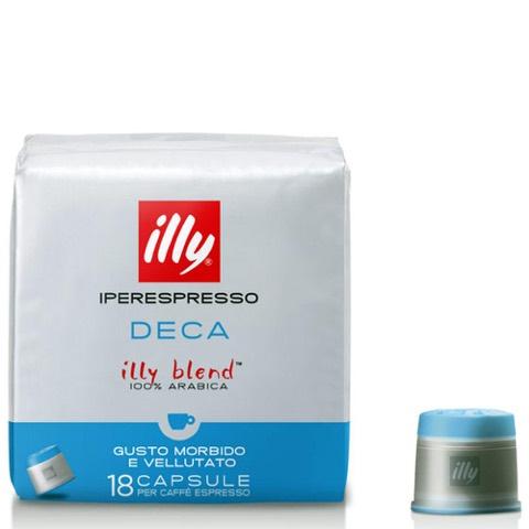 Capsule di Caffè Iperespresso Decaffeinato Illy Confezione 18 pezzi