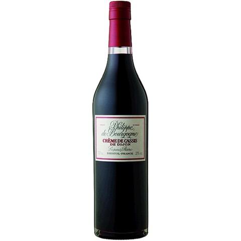 Creme de Cassis De Dijon Rare Liqueur Philippe de Bourgogne 70 Cl