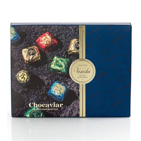 Cofanetto Cioccolatini Assortiti Chocaviar Venchi 172 Gr